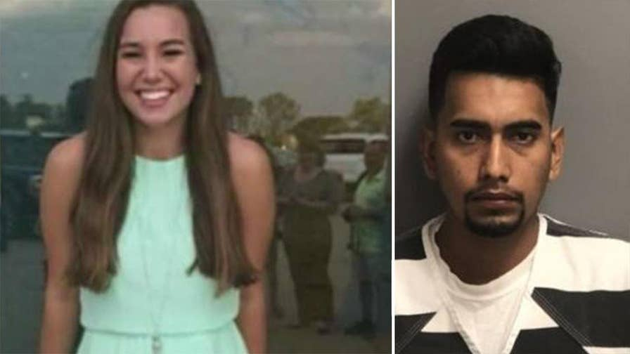 Police say 24-year-old Cristhian B. Rivera confessed to chasing Iowa college student Mollie Tibbetts, led authorities to her body; Matt Finn reports from Montezuma, Iowa.