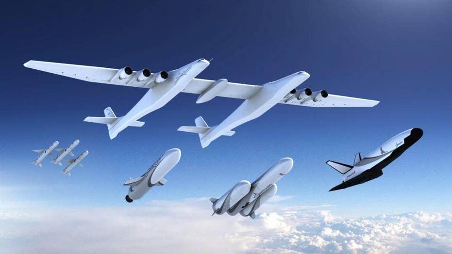 The Stratolaunch, the world's largest plane