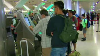 Pilot program uses cameras to match passengers to government pictures on file; Claudia Cowan reports from San Jose on the new software.
