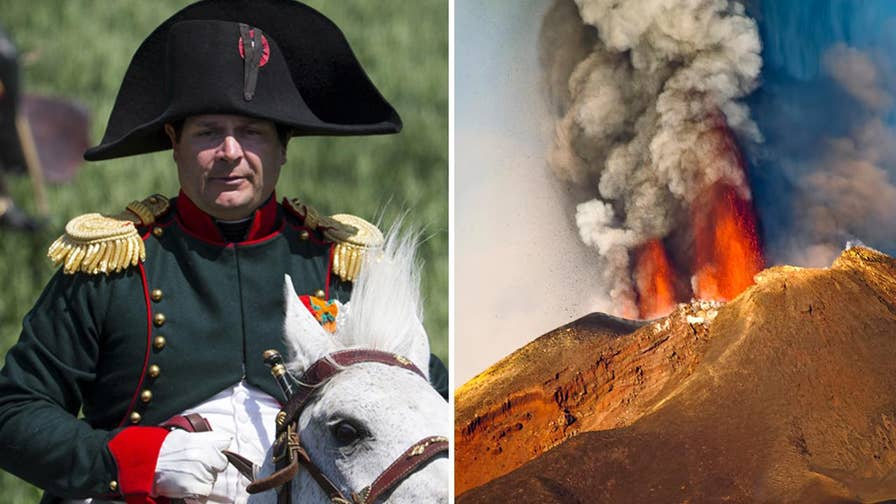 According to new research, Napoleon Bonaparte's defeat at Waterloo may have been due to electrically charged volcanic ash 'short-circuited' Earth's atmosphere in 1815, causing poor weather across the globe.