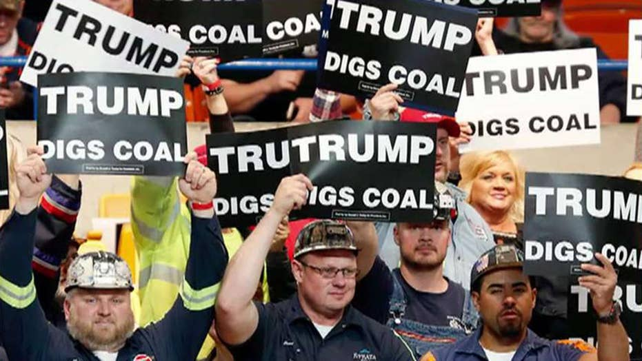 Coal mines making a comeback in West Virginia as a result of Trump policies