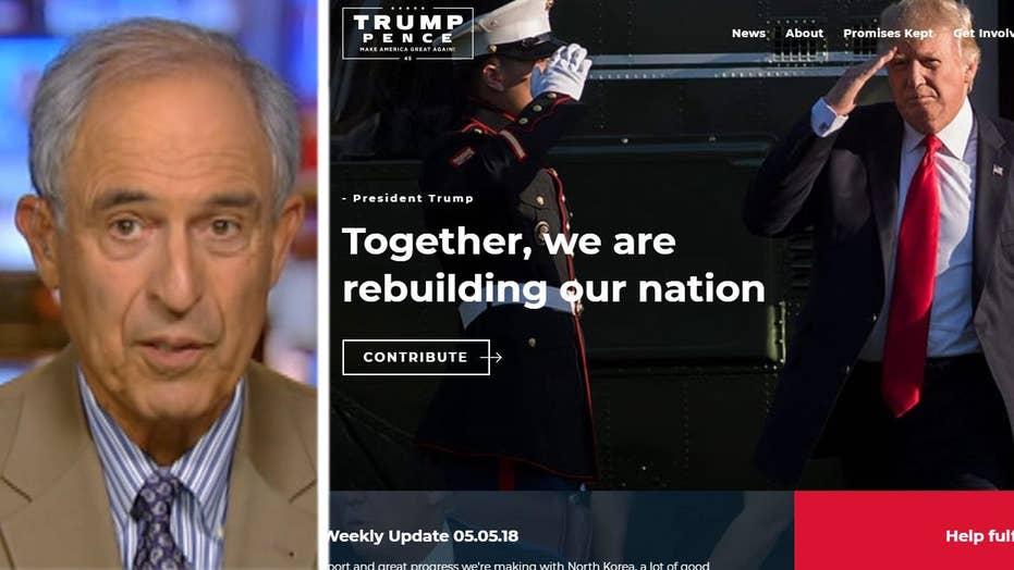 Michael Cohen website mishap