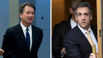 Democrats demand nominee Brett Kavanaugh's confirmation hearing be postponed as they label Trump an 'unindicted co-conspirator'; Doug McKelway reports on the tactic.