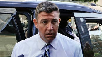 California Republican Duncan Hunter and his wife plead not guilty to using campaign funds for personal expenses; William La Jeunesse reports from Los Angeles.