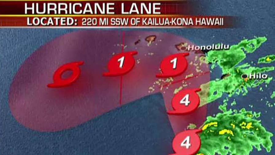 Adam Housley reports from Maui on the conditions and storm preparations.