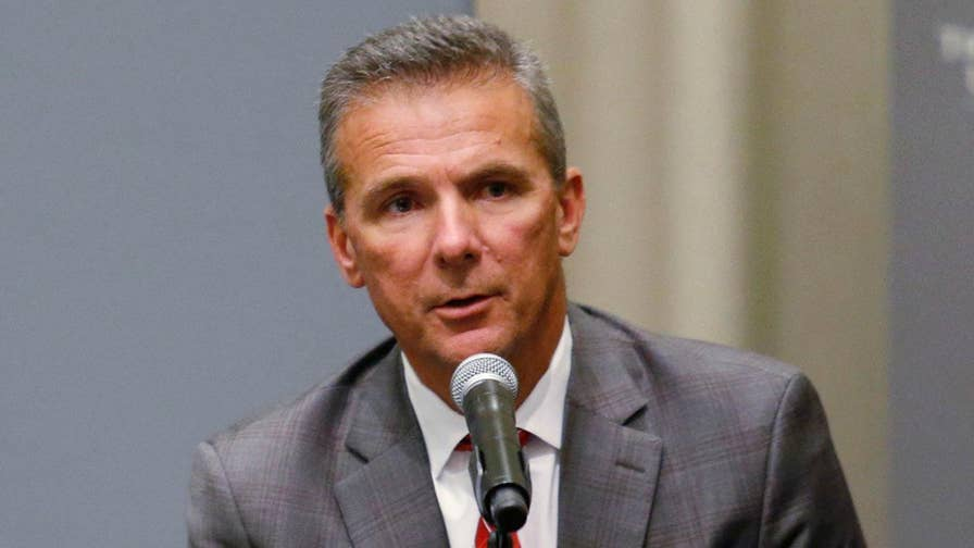 The decision comes following a two-week investigation into how Urban Meyer and the school's football program handled domestic violence allegations against a former assistant coach.