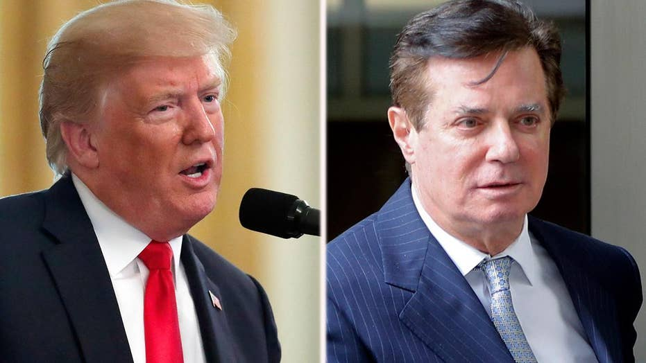 Trump not ruling out pardon for Paul Manafort