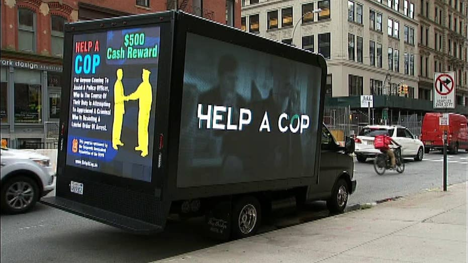 New York City police union offering cash for helping cops