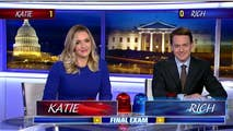 This week's news quiz on the week's current events features defending champion Katie Pavlich and FOX News' Rich Edson. #Tucker
