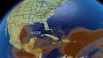 Dry air and cold water temperatures cited as factors
