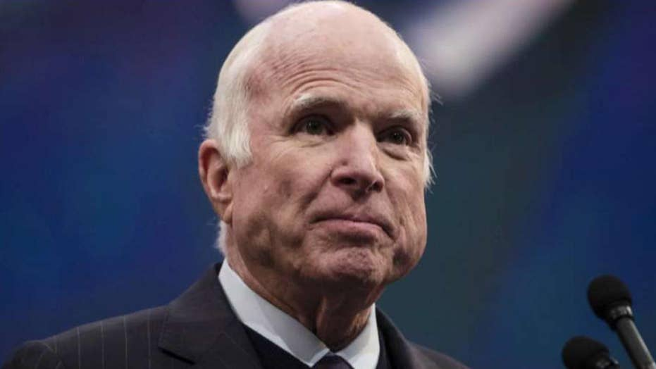 Sen. John McCain no longer seeking medical treatment