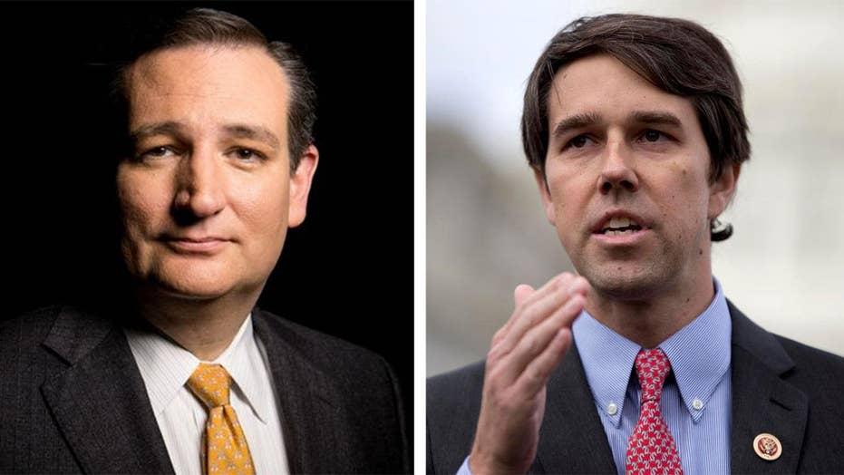 Cruz dings challenger O'Rourke for defending anthem protests