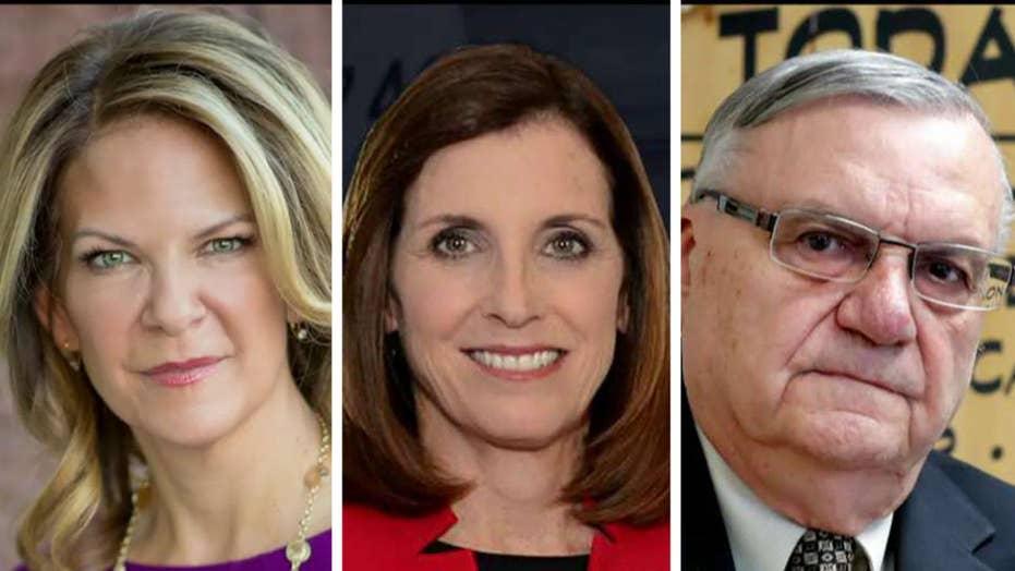 Three GOP candidates vie for Senate nomination in Arizona