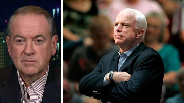 Mike Huckabee: Nobody could take away John McCain's courage