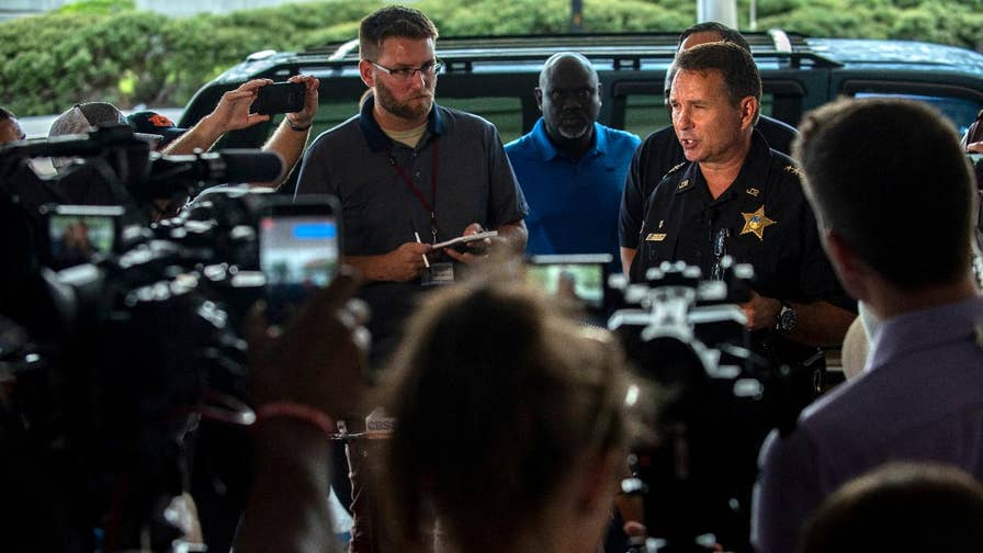 Jacksonville Sheriff Michael Williams speaks following the deadly shooting that took place in Jacksonville, Florida.