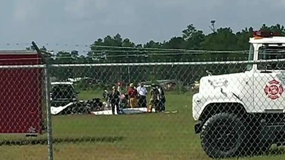 Skydivers killed in Georgia plane crash