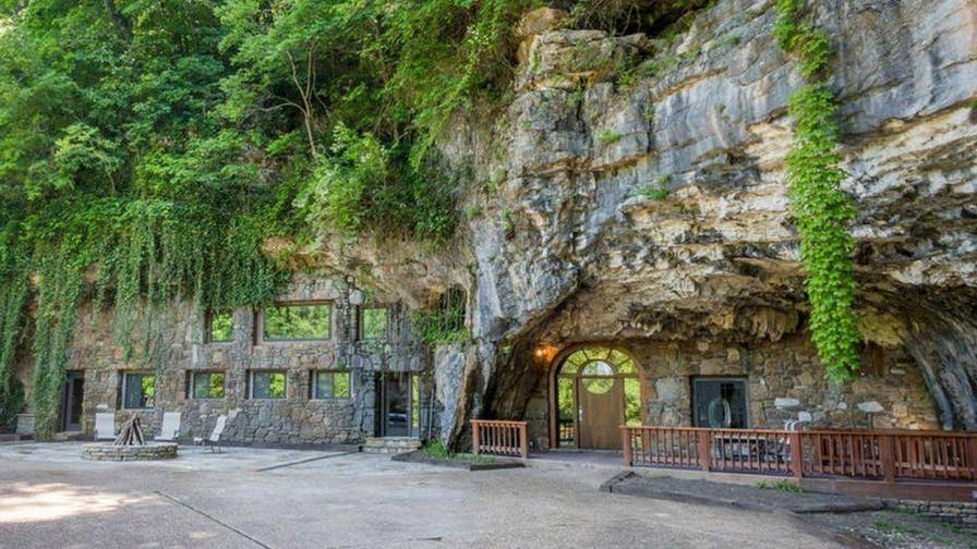 A home inside a cave is selling for big bucks. The Beckham Creek Cave House, a 5,572-square-foot space constructed inside a natural cavern near Parthenon, Arkansas, could be yours for a cool $2.75 million.