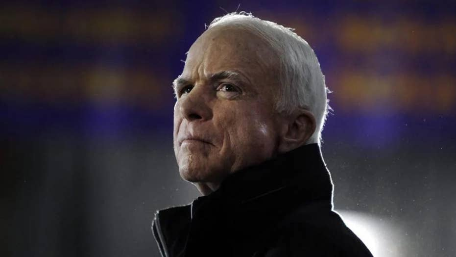 When McCain returned to Vietnam