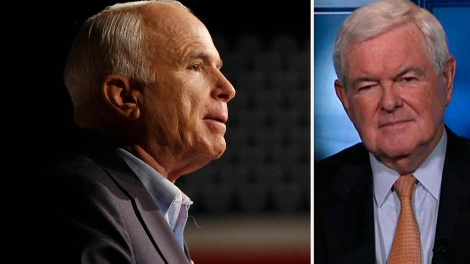 Newt Gingrich: Why John McCain was such an inspiration to me