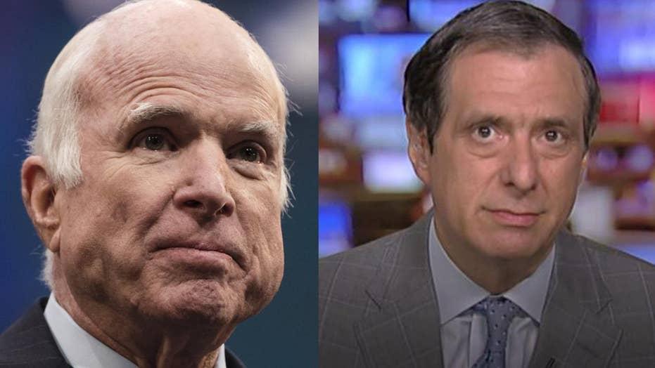 Kurtz: Why the McCain Sendoff Has Become a Litmus Test
