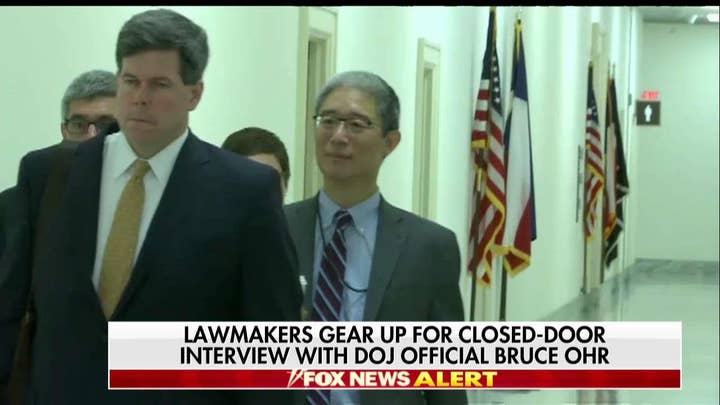 Bruce Ohr Refuses to Answer Fox News' Questions