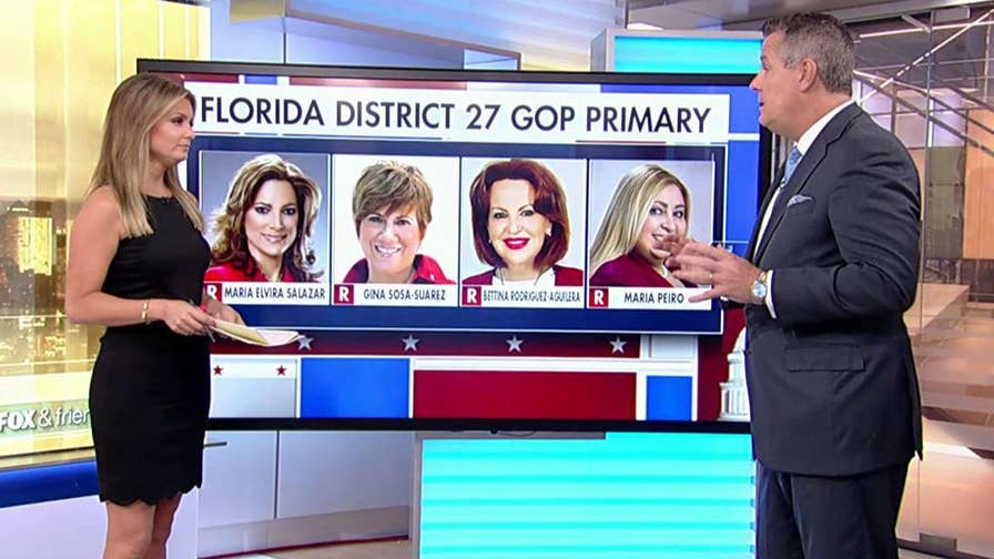 Former pollster for the Trump campaign Jim McLaughlin examines Tuesday's primary races.