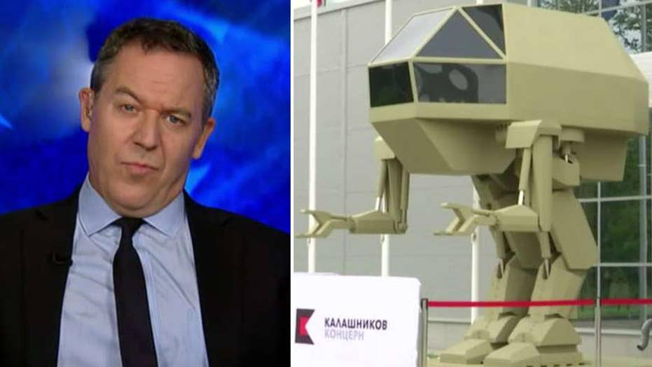 The rise of the robots, according to Greg Gutfeld