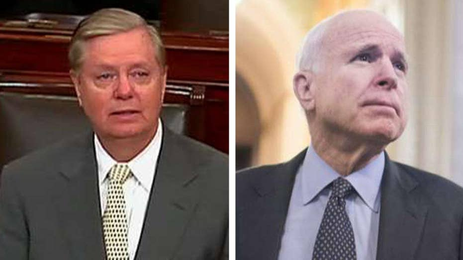 Sen. Graham delivers 'after-action report' on John McCain