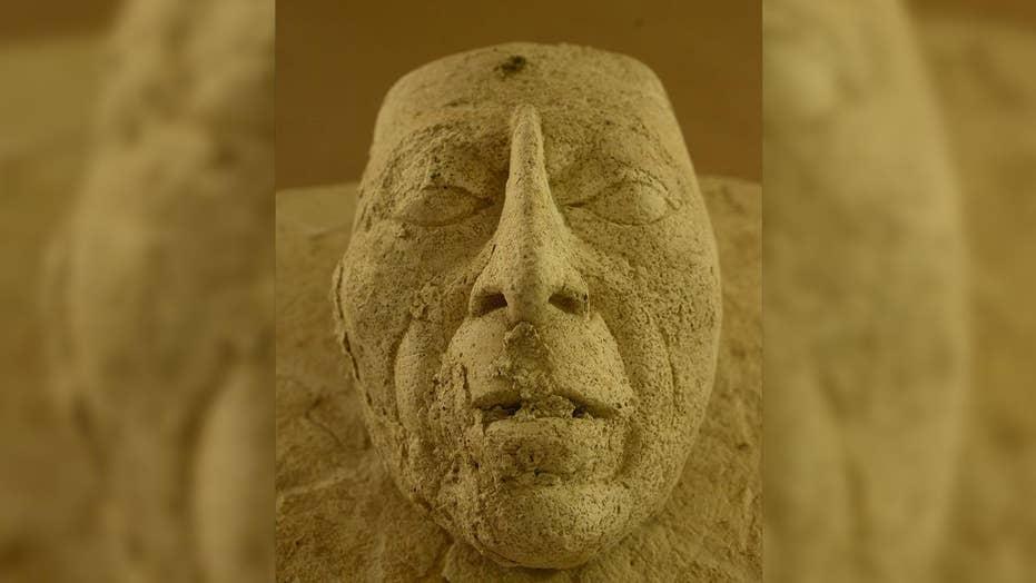 1,500-year-old mask of Maya ruler found