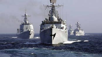 China's navy is now the world's largest. Fox News senior strategic analyst Jack Keane also discusses Russia's intention to hold massive military exercises.