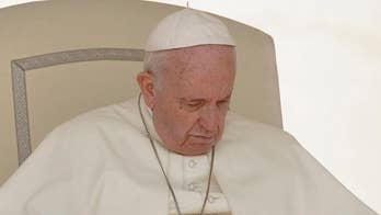 Pope Francis makes first Vatican appearance since Archbishop Carlo Maria Vigano, a former Vatican official, accused him of covering up ex-Cardinal Theodore McCarrick's misconduct; chief religion correspondent Lauren Green reports.
