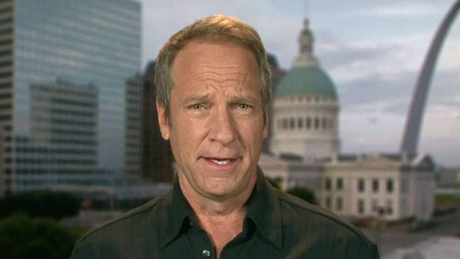 TV host and mikeroweWORKS Foundation founder offers insight on the job market on 'Fox & Friends.'