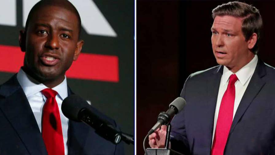 Ideologies clash in Florida as Trump-endorsed Ron DeSantis squares off against Bernie Sanders-backed Andrew Gillum in the governor's race; reaction and analysis on 'The Five.'