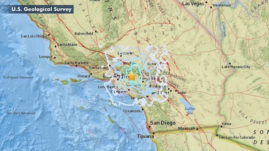 Magnitude 4.4 earthquake strikes east of Los Angeles