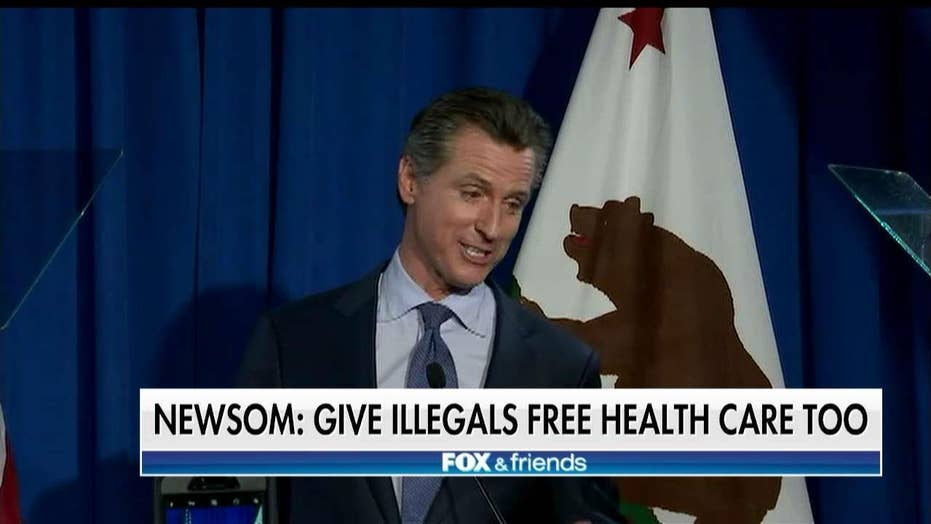 Lahren: Gavin Newsom's Plan for Free Illegal Immigrant Health Care Should 'Enrage' Californians