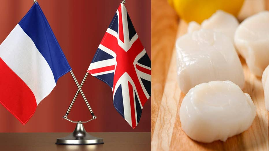 French, British Boats clash over lucrative scallop catches