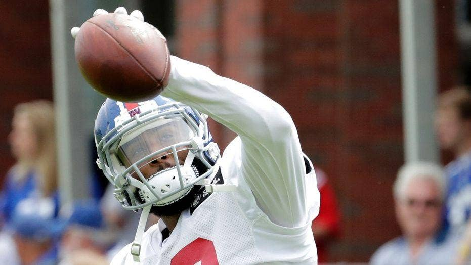 new concept e70be bebcf Odell Beckham Jr. opens up about expectation of black ...