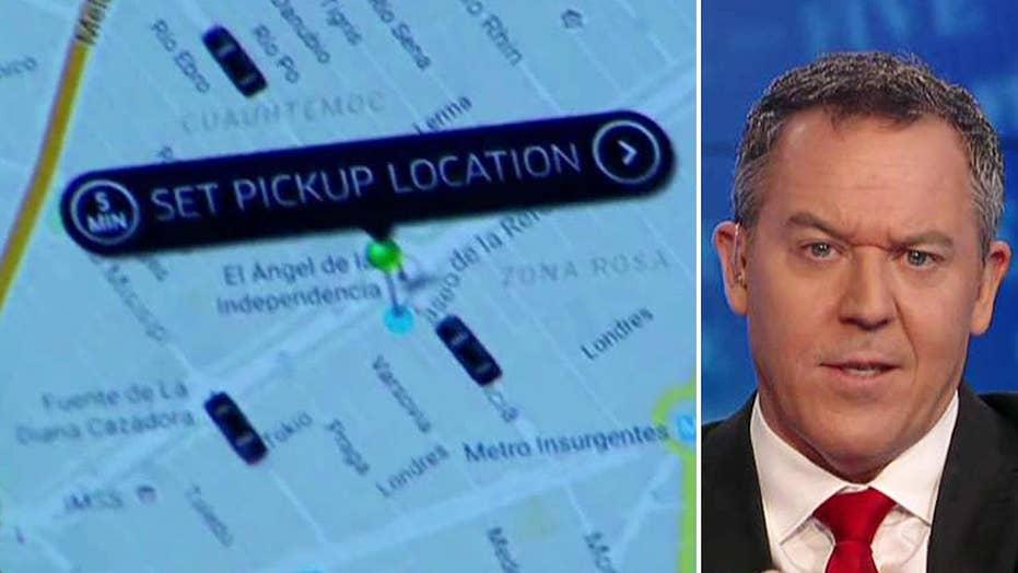 Gutfeld on a socialist's hypocrisy on Uber