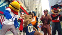 School mascots compete for pre-season dominance on 'Fox & Friends.'