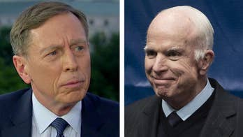 Former Director of the CIA Gen. David Petraeus reflects on Senator John McCain's life and legacy, says no one supported the U.S. military more in the post-9/11 period than McCain.