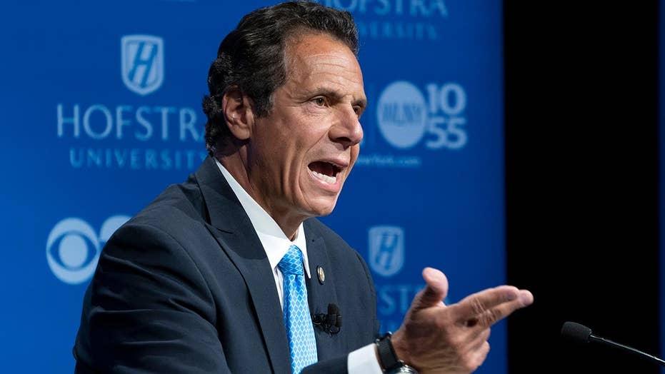 Cuomo slams ICE as 'thugs' at NY gubernatorial debate
