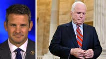 As the late senator's body arrives on Capitol Hill, Republican Rep. Adam Kinzinger weighs in on the impact of the loss on the discourse in Congress.