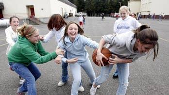 Alabama schools target tag, kickball and musical chairs