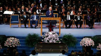 Luminaries pay their respects to the Queen of Soul Aretha Franklin; Laura Ingle reports from Detroit.