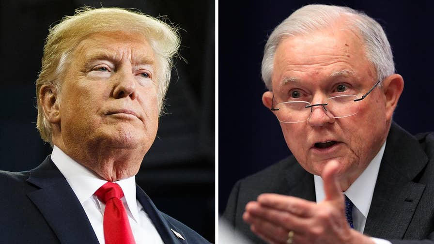 President Trump threatens to 'get involved' unless FBI, DOJ 'start doing their job.'