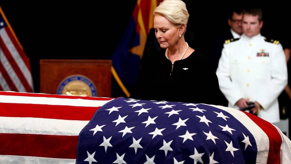 Memorial for John McCain moves from Arizona to Washington