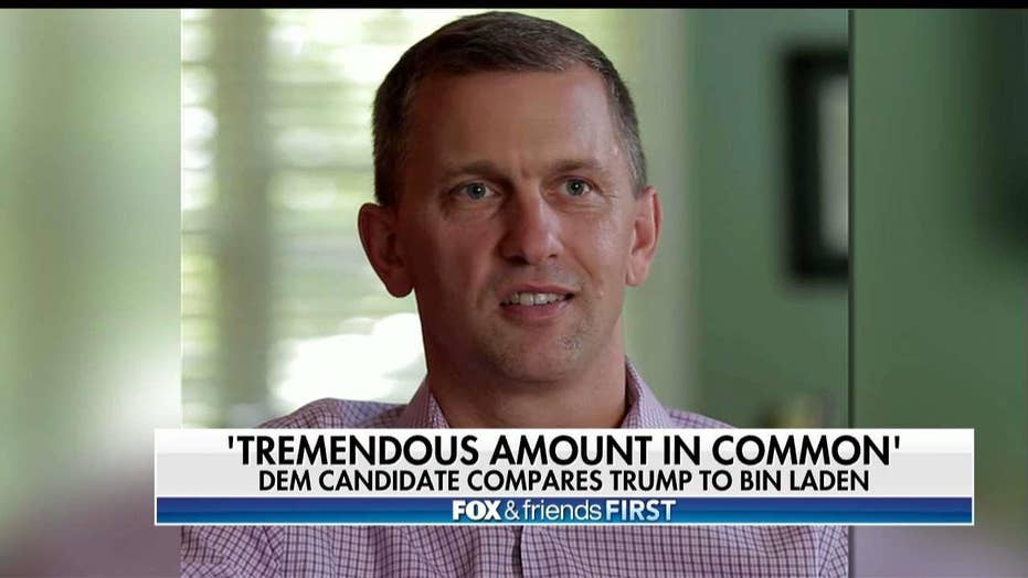 Democratic Congressional Candidate: Trump and Bin Laden 'Have a Tremendous Amount in Common'