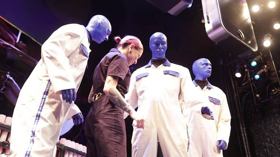 Blue Man Group to debut new costume at NY Fashion Week