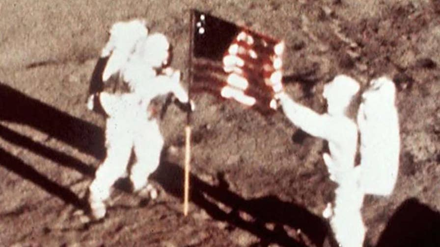 'First Man' filmmakers have come under criticism for omitting the historic moment when Armstrong planted an American flag on the moon; reaction from former astronaut and former U.S. Marine Corps Lt. Col. Andy Allen.