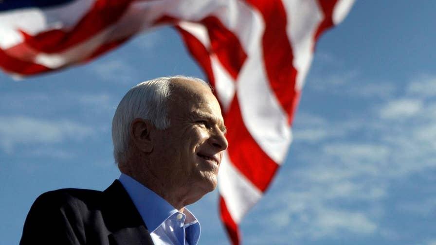 Meghan McCain knocks Trump at John McCain's memorial service: 'America was always great'
